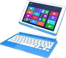 Kurio smart 2 In 1 Tablet mit 8.9 Zoll Windows 8.1 Weiß/blau
