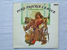 Pure Prairie League If The Shoe Fits 1976 RCA APL1-1247 1st W Traugott Press VG-