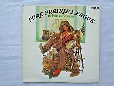 Pure Prairie League If The Shoe Fits 1976 RCA APL1-1247 1st W Traugott Press VG-