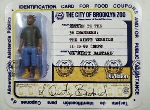 ODB. ReAction Figure Super7 Wu-Tang Clan Ol Dirty Bastard SOLD OUT FREE SHIPPING