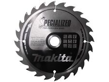New Makita B-09173 165mm x 20mm x 24T Specialized Circular Saw Blade
