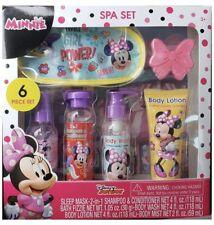 Disney Junior Minnie Bath & Body Cotton Candy Scented Spa Set, 6 pcs Gift Set