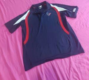 Houston Texans Polo Shirt Large
