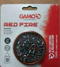 Gamo 632270154 RED FIRE PELLETS .177 CAL. TINS OF 150 - M20
