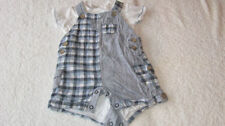 Linen Blend Checked Outfits & Sets (0-24 Months) for Boys