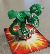 Bakugan Ventus Green Razenoid Mechtanium Surge 750g with random metal card