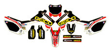 MX Decal Sticker Kit En Vinilo Mx Se Ajusta Honda CRF250 450 2013 14 (no OEM)