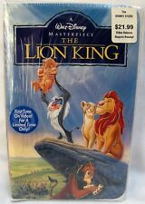 WALT DISNEY The Lion King VHS 1995 Masterpiece Collection MIB NRFB