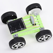 Mini Plastic Solar Powered Motor Toy Set Car Educational Gadget DIY Hobby Kit.