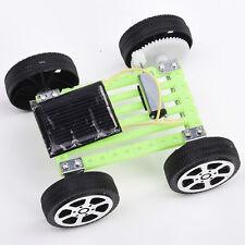 Mini Plastic Solar Powered Motor Toys DIY Set Car Educational Gadget Hobby Toys