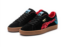 PUMA X SANTA CRUZ SUEDE CLASSIC 50TH ANNIVERSARY 366321-01 Black Men's  Sz 10.5