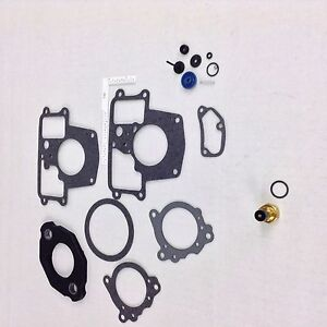 NOS HOLLEY 1945 1 BBL CARBURETOR KIT CHRYSLER DODGE TRUCK PLYMOUTH 198-225 6 CYL