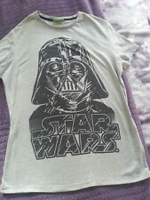 "Darth Vadar t-shirt  size Large  grey marl star wars approx 40"" chest"