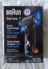 New Open Box Braun Series 7 Cordless Electric Shaver Razor Wet NFL 740s-7