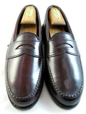 "NEW Allen Edmonds ""Patriot"" Loafers Shell Cordovan 7 D  Burgundy (380)"