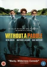 WITHOUT A PADDLE DVD w/ SETH GREEN & BURT REYNOLDS