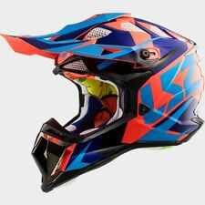 LS2 Subverter MX470 Nimble MX Offroad Helmet Black/Blue/Orange