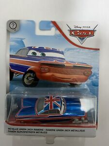 Disney Cars. Metallic Union Jack Ramone.  New