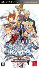 Used PSP BlazBlue Continuum Shift II SONY PLAYSTATION JAPAN IMPORT