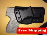 IWB Holster for Springfield XDs 4.0 - Adjustable Retention - 15 Deg Cant