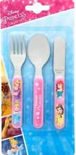 Disney Princess 'Forever' 3-Piece Cutlery Set | Knife, Fork and Spoon