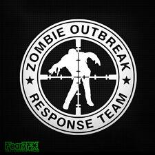 Zombie outbreak target sniper voiture van autocollant autocollant jdm vw euro nouveauté réponse