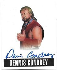 2017 Leaf Originals Wrestling Alt. Art Auto (2014/2016) Card - Dennis Condrey