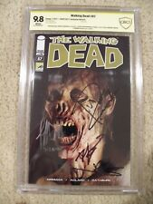 THE WALKING DEAD CGC 9.8 #87 SIGNED Norman Reedus SDCC Jeffrey Dean Morgan Comic