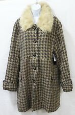 Mo-Ka by santa fe apparel womens size xl jacket coat faux fur
