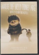 """Where The Wild Things Are "" - lightly Used DVD"