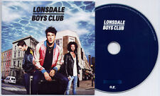 LONSDALE BOYS CLUB s/t 2012 UK 11-trk numbered promo test CD