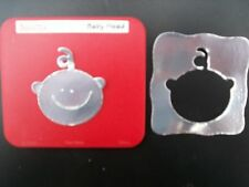 Sizzix Sizzlits Die Cutter Baby Head Face s'adapte Cuttlebug & Big Shot