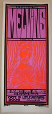 2006 The Melvins w/ Porn - Columbus Silkscreen Concert Poster S/N Martin