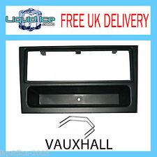 FP-19-00 Vauxhall Vectra Vivaro Black Fascia Facia Adaptor Panel Stereo PC5-110