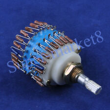 2P 23 Step DALE Attenuator Volume Pot Stereo Potentiometer 100K