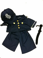 "English Bobby Outfit Teddy Bear Clothes Outfit Fits Most 14"" - 18"" Build-a-bear"