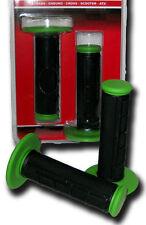 Manopola Moto Cross MTB BCR Dual Color Verde Nera