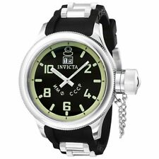 Invicta 4342 Men's Russian Diver 51.5mm Black Dial Watch