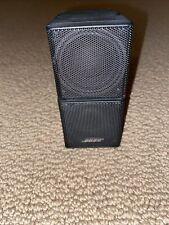 "New listing 1 Black Bose Lifestyle Jewel Mini Double Cube Speaker Series Ii 4 3/8"""