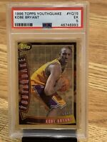 Kobe Bryant 1996-97 Topps Youthquake Rookie Graded PSA EX RARE AWESOME CARD
