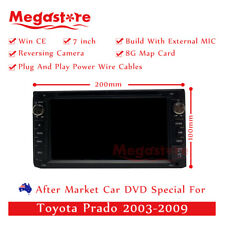 "7"" Car DVD GPS  Head Unit Player Stereo Radio Navi For Toyota Prado 2003-2009"