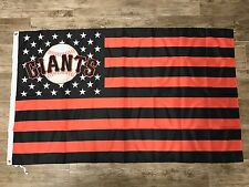 San Francisco Giants Stars and Stripes Flag Same Day Shipping From California