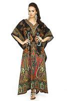 New Ladies Over sized Maxi Kimono Kaftan Tunic Kaftan Dress Free Size