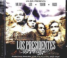 LOS PRESIDENTES/4 FANTASTIKOS /MR.BOY, LEO, YANURI Y MASO / LOS 4 FANTASTICOS/CD