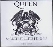 3 CD Box Set QUEEN GREATEST HITS THE PLATINUM COLLECTION SUCCESSI BEST MEGLIO