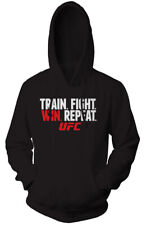 UFC Train Fight Win Pullover Hoodie - Black
