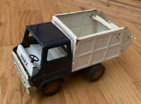 Vintage Marx Pressed Steel Sanitation Truck 1969 7 inches long Toy