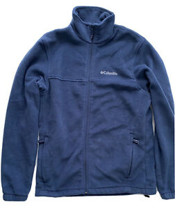 Columbia Men's Steens Mountain 2.0 Full Zip Fleece Jacket Size M Blue 1476671
