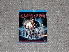 Class of 1984 Collector's Edition Blu-ray 2015 Scream Factory New & Slip Cover