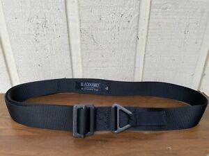 BLACKHAWK! CQB/Riggers Belt Size Large, 41-51. Made in USA
